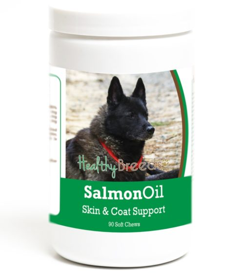 192959017366 Norwegian Elkhound Salmon Oil Soft Chews - 90 Count