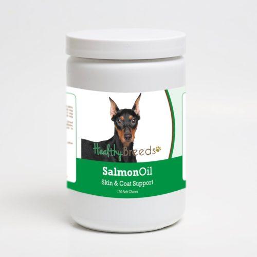 192959019087 German Pinscher Salmon Oil Soft Chews - 120 Count