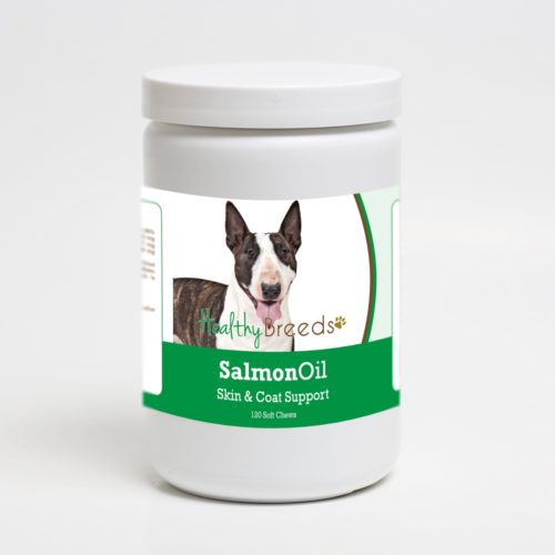192959019483 Miniature Bull Terrier Salmon Oil Soft Chews - 120 Count