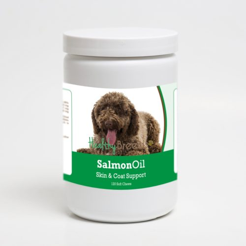 192959020151 Spanish Water Dog Salmon Oil Soft Chews - 120 Count
