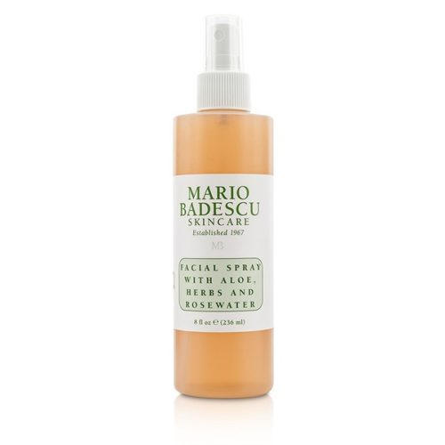 204641 Facial Spray with Aloe, Herbs & Rosewater - for All Types Skin