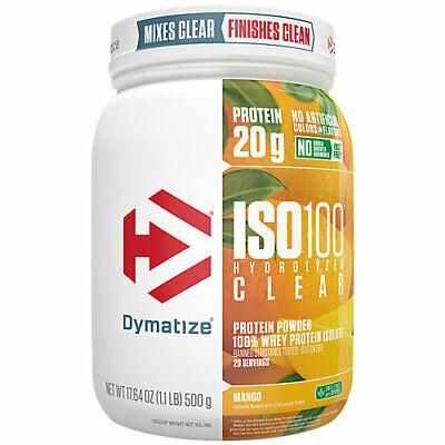 2060677 1.1 lbs ISO 100 Hydrolyzed Clear Protein Powder, Mango