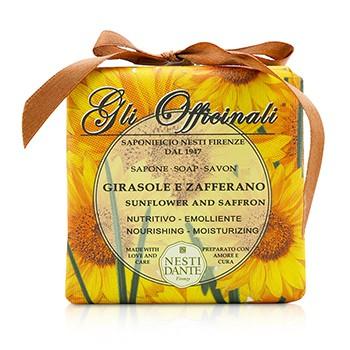208657 Gli Officinali Soap - Sunflower & Zafferano - Nourishing & Moisturizing