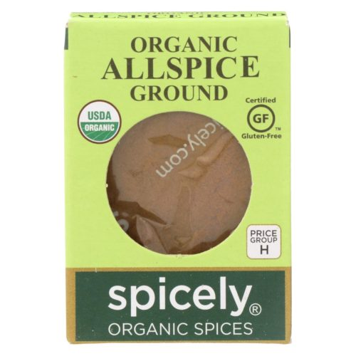 2114221 0.45 oz Ground Organic Allspice - Case of 6