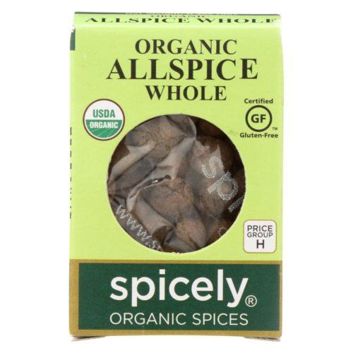2114239 0.3 oz Whole Organic Allspice - Case of 6
