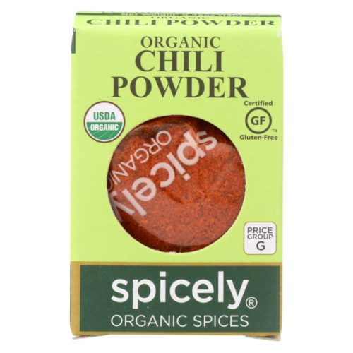 2114528 0.45 oz Organic Chili Powder - Case of 6
