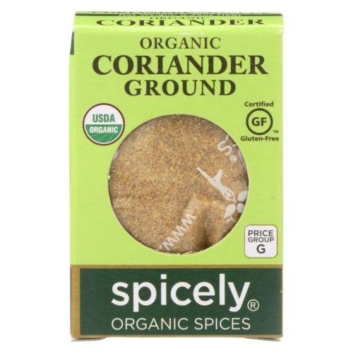 2114601 0.45 oz Ground Organic Coriander - Case of 6