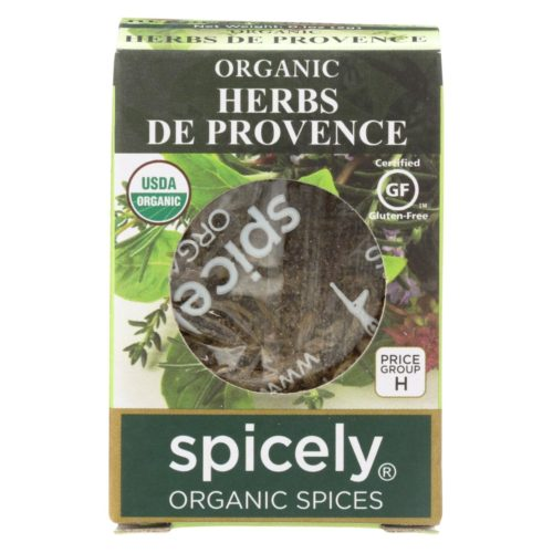 2115731 0.1 oz Organic Herbs De Provence Seasoning - Case of 6