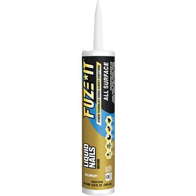 213739 9 oz Liquid Nails Fuze It
