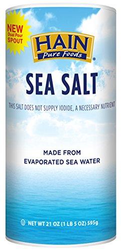 2177939 21 oz Pure Foods Sea Salt - Case of 8