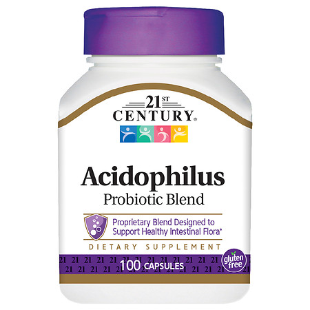 21st Century Acidophilus High-Potency Capsules - 100.0 ea