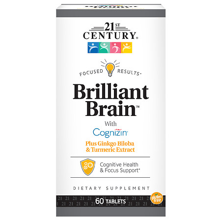 21st Century Brilliant Brain - 60.0 ea