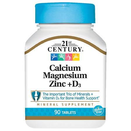 21st Century Calcium Magnesium Zinc +D3 - 90.0 ea