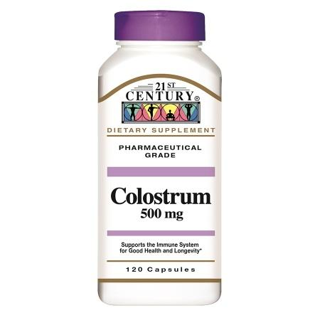 21st Century Colostrum 500 mg - 120.0 ea