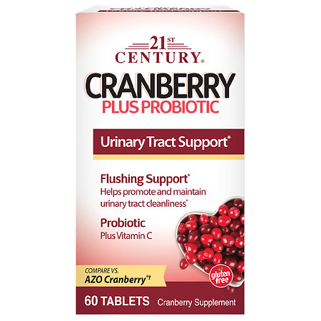 21st Century Cranberry Plus Probiotic - 60.0 ea