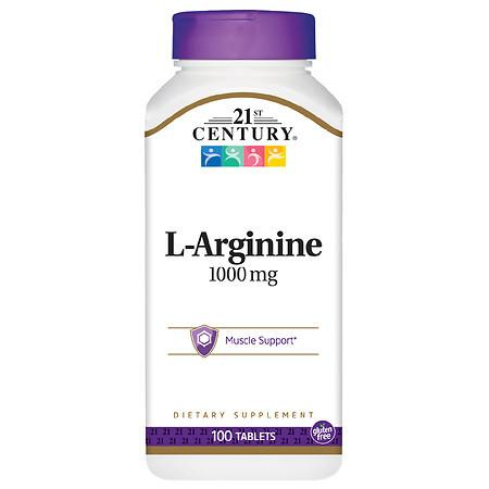 21st Century L-Arginine 1000mg Maximum Strength - 100.0 ea