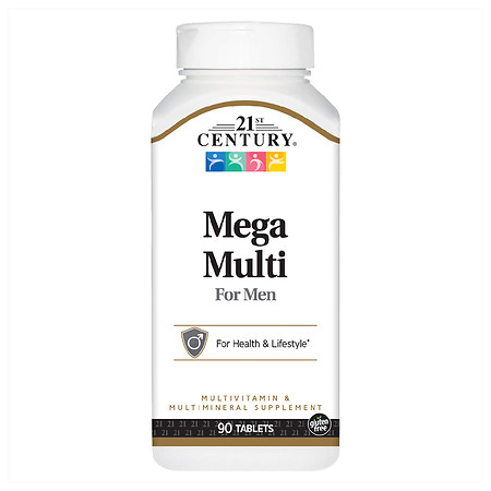 21st Century Mega Multi for Men, Multivitamin & Multimineral - 90.0 ea