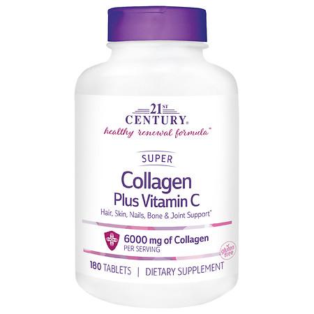 21st Century Super Collagen +C - 180.0 ea