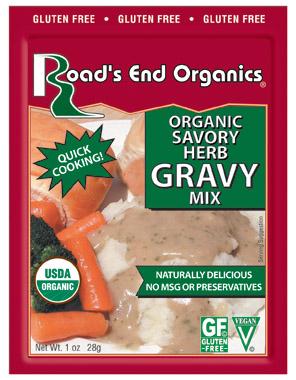 22329 Organic Savory Herb Gravy Mix G-Free