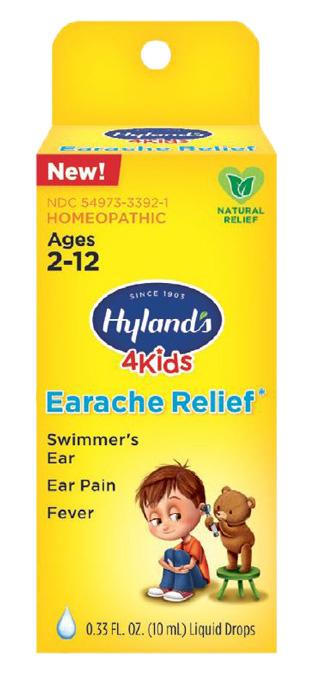 223921 0.33 oz 4 Kids Earache Drops