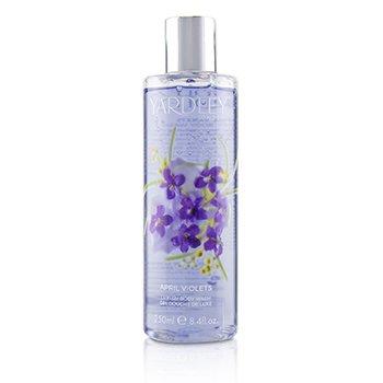 224646 8.4 oz April Violets Luxury Body Wash for Women