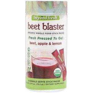 2253532 Beet Blaster, Beet Apple & Lemon Single Serve Stick Packs - 14 Count
