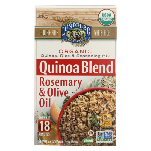 2260388 5.50 oz Rosemary & Olive Oil Quinoa, Rice & Seasoning Mix - Case of 6