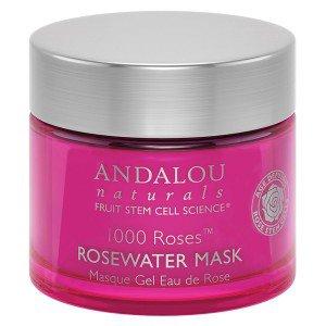 228001 1.7 fl oz Andalou Naturals 1000 Roses Rosewater Gel Mask