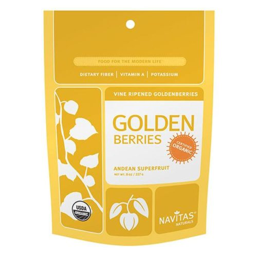 231126 8 oz Organic Dried Goldenberry Powder
