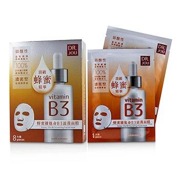 232065 8 Piece Honey Vita B3 Nourishing Facial Mask