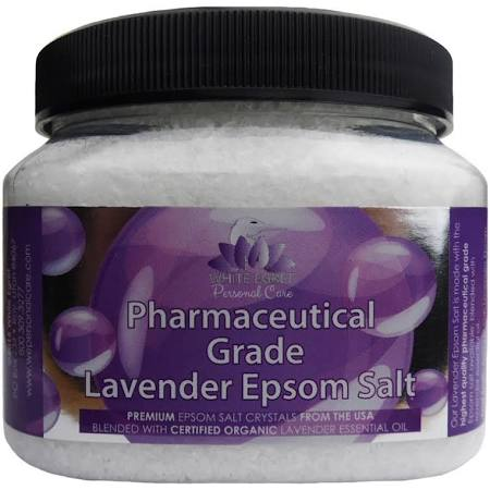 233176 16 oz Pharmaceutical Epsom Lavender Salts