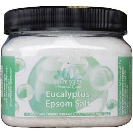233177 16 oz Pharmaceutical Epsom Eucalyptus Salts