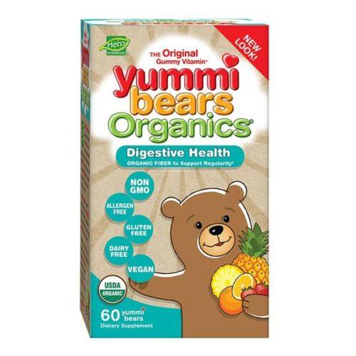233891 Children Gummy Vitamins Digestive Health, Yummi Bears Organics - 60 Count