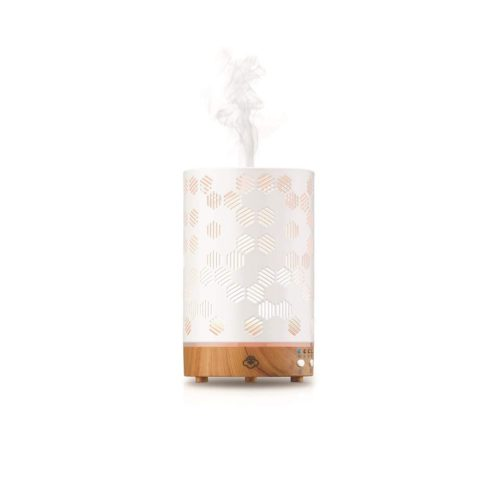 234765 Aromatherapy Diffusers Honeycomb, White