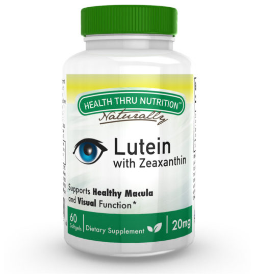 2362895 20 mg Lutein Lutemax 2020 Softgels - 60 Count