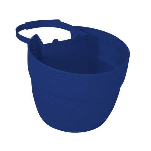 2468-1 Post Planter Both Permanent and Temporary Installation Options Garden in Untraditional Spaces - Cobalt Blue