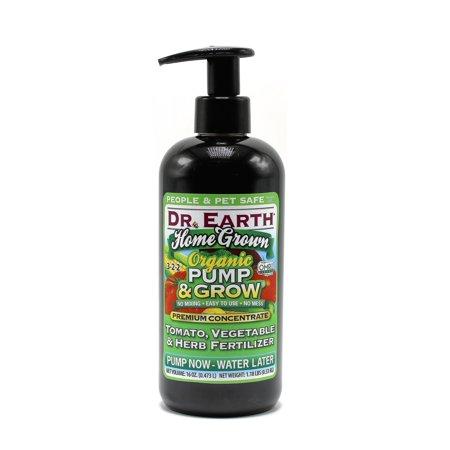 249911 16 oz Organic Pump & Grow Home Grown Tomato, Vegetable & Herb Fertilizer
