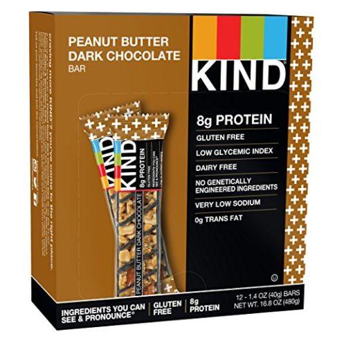 25719 0.7 oz Minis Cherry Cashew & Dark Chocolate, Dark Chocolate & Peanut Butter Box