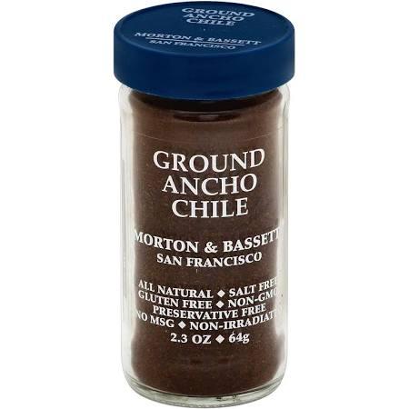 258627 2.3 oz Chili Ancho Powder Ground - Pack of 3