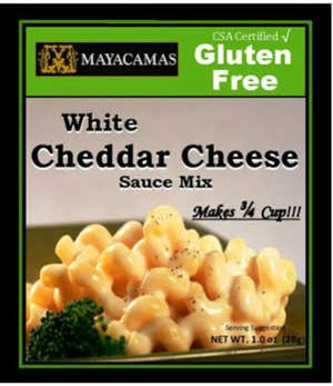 272189 1 oz Mix Gluten Free White Cheddar Cheese - Pack of 12