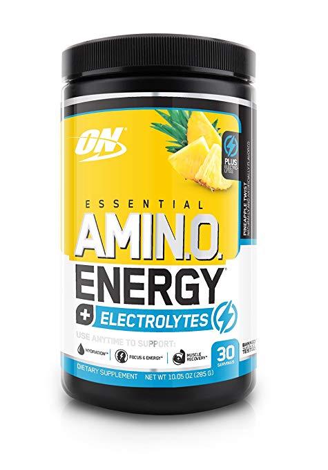 2730628 Amino Energy Plus Electrolytes, Pineapple Twist, 30 Servings