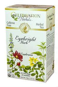 275134 Eyebright Herb Organic Tea - 24 Bag, 12 Per Case