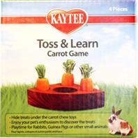 277207 Kaytee Carrot Toss & Learn Game