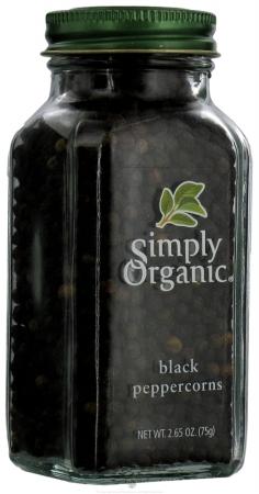 28645 Organic Black Peppercorns