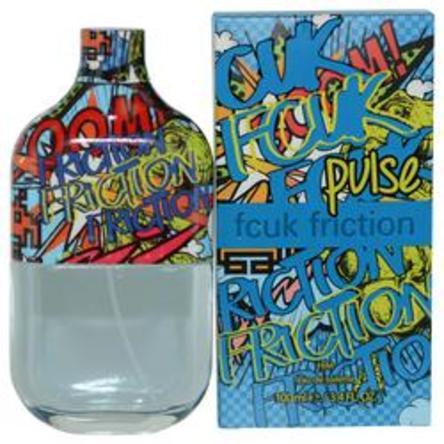289308 3.4 oz Fcuk Friction Pulse Eau De Toilette Spray