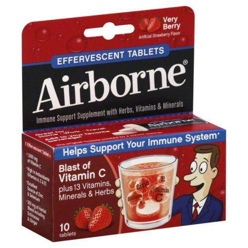30112 Immune Support Effervescent Tablet, Very Berry, 10 Count