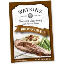 310160 0.87 oz Ssning Mix Brown Gravy Gourmet - Pack of 12