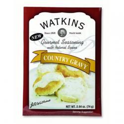 310171 2.64 oz Seasoning Mix Country Gravy Gourmet - Pack of 6