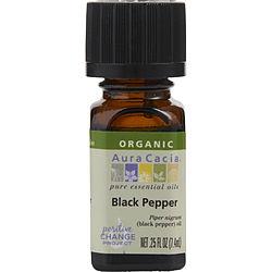 310909 0.25 oz Essential Oils Black Pepper Organic Essential Oil for Unisex