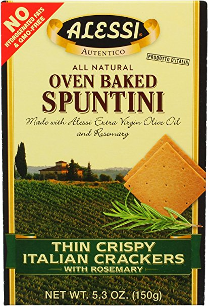 314475 5.3 oz Crackers Italin Rosemary - Pack of 6